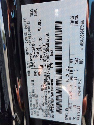 2021 F-150 SuperCrew Cab 4x4,  Pickup #M2869 - photo 25