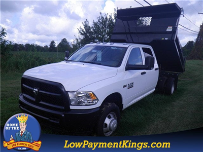 2017 Ram 3500 Crew Cab DRW 4x4, Dump Body #HG513422 - photo 1