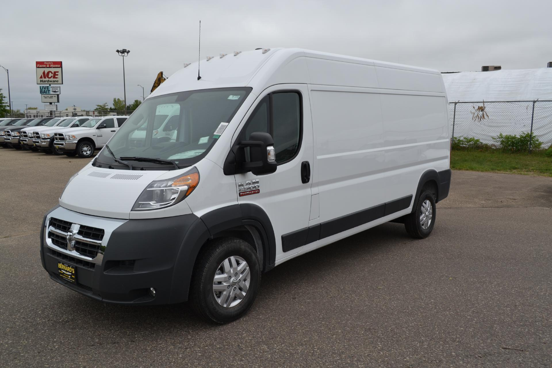2018 ProMaster 2500 High Roof FWD,  Empty Cargo Van #18-938 - photo 1