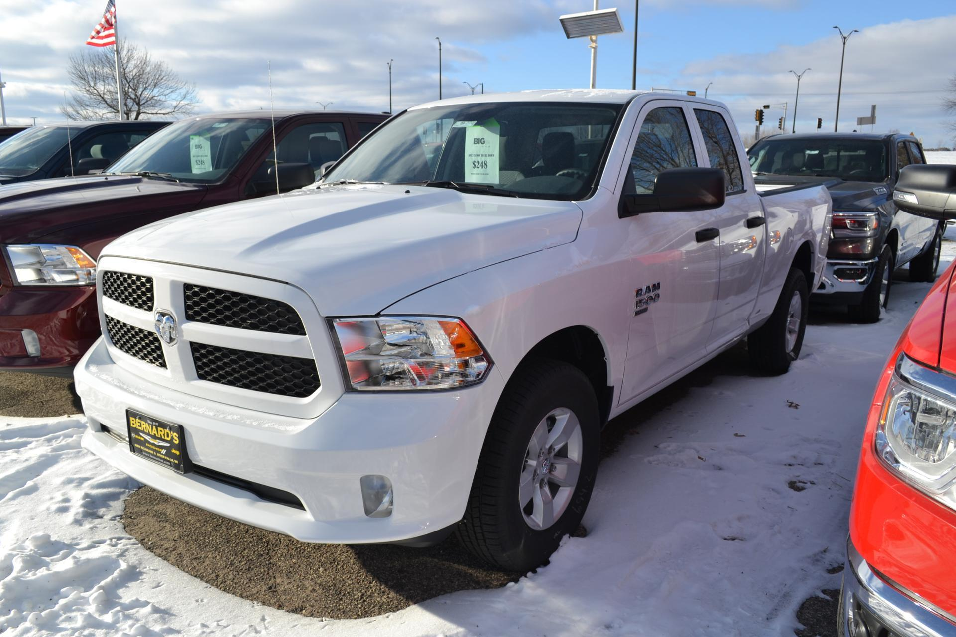 2019 Ram 1500 Quad Cab 4x4,  Pickup #19-270 - photo 16