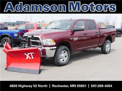 2018 Ram 3500 Crew Cab 4x4,  BOSS Snowplow Pickup #8210460 - photo 1
