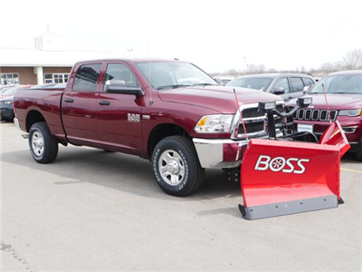 2018 Ram 3500 Crew Cab 4x4,  BOSS Snowplow Pickup #8210460 - photo 5