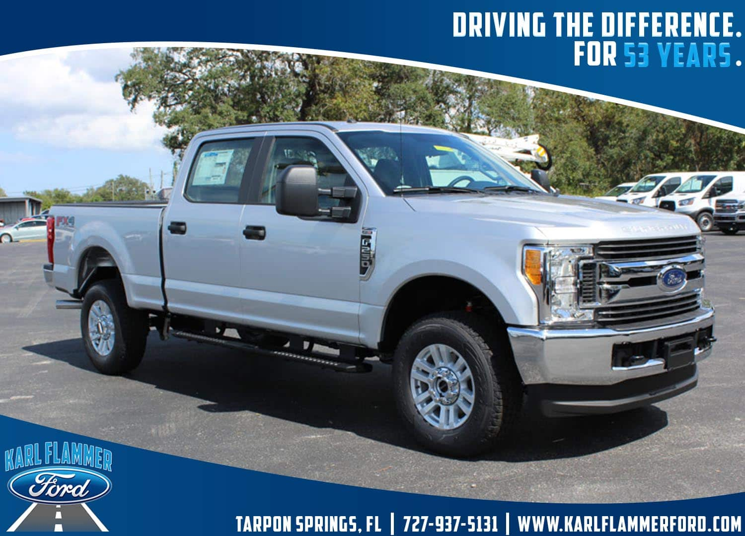 2017 F-250 Crew Cab 4x4 Pickup #7W2B1634 - photo 1