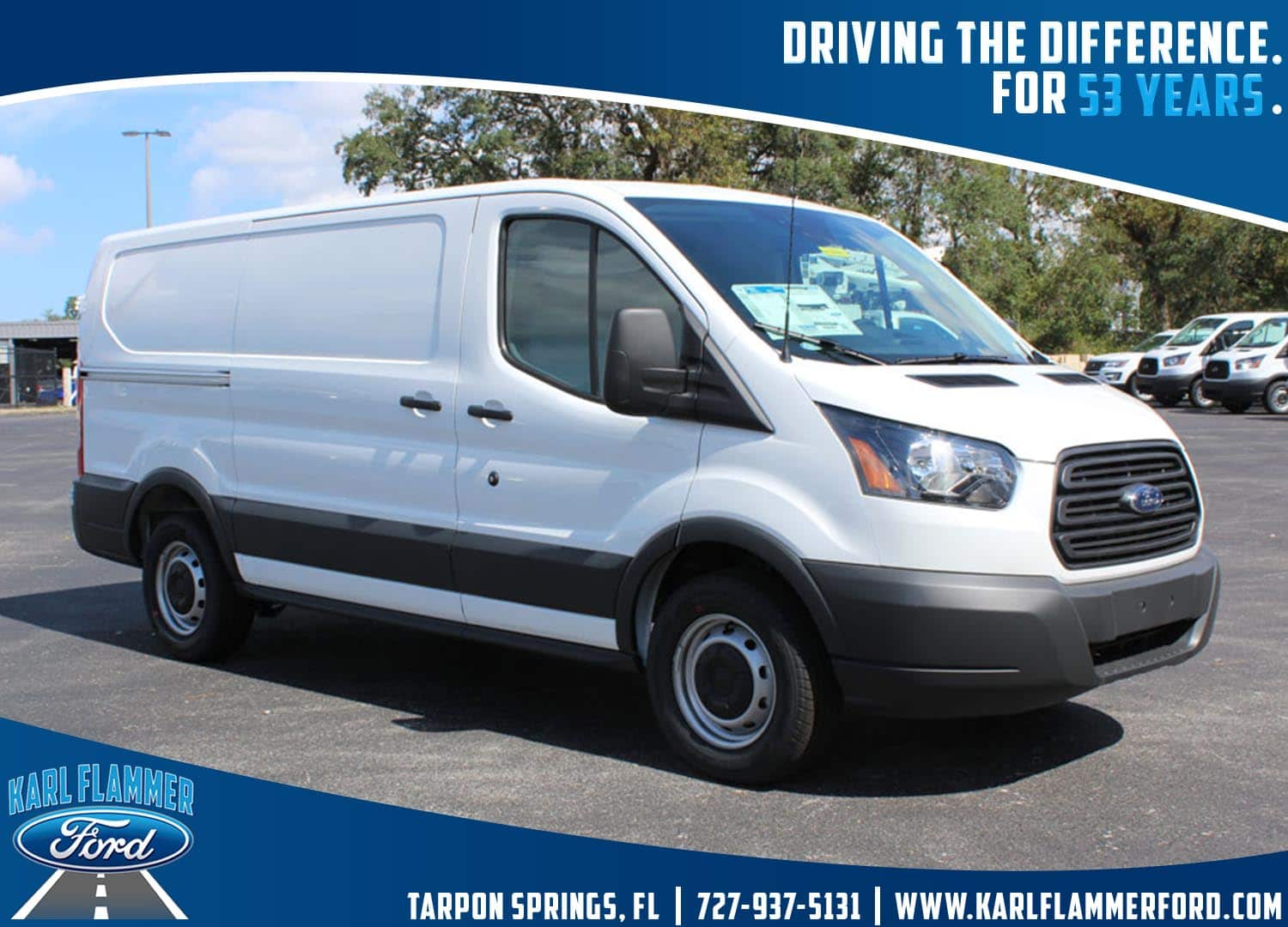 2018 Transit 150 Cargo Van #8E1Y0621 - photo 1