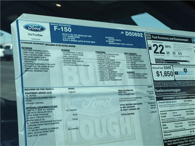 2018 F-150 Regular Cab 4x2,  Pickup #8F1C0692 - photo 14