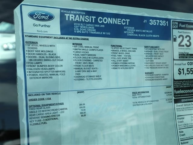 2018 Transit Connect Cargo Van #8S7F7351 - photo 15