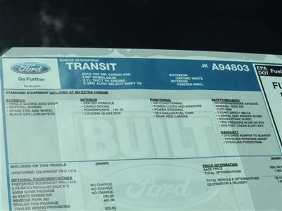 2018 Transit 350 Med Roof 4x2,  Empty Cargo Van #8W2C4803 - photo 15