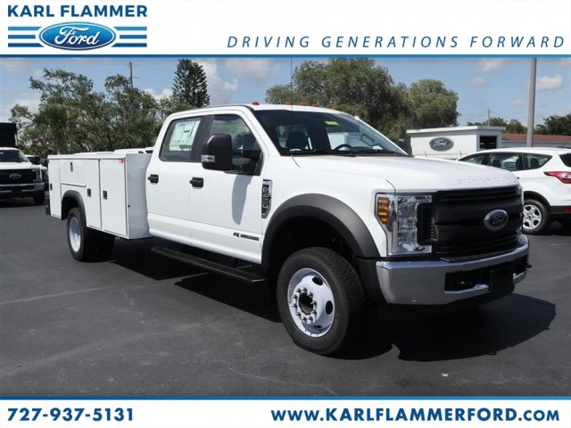 2018 F-450 Crew Cab DRW,  Service Body #8W4G5061 - photo 1