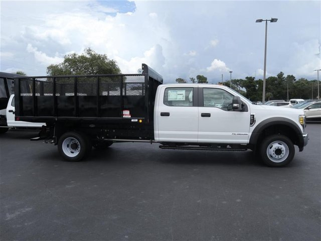 2018 F-450 Crew Cab DRW 4x2,  Stake Bed #8W4G8896 - photo 4
