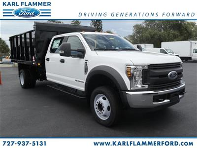 2018 F-450 Crew Cab DRW,  Stake Bed #8W4G8896 - photo 1