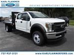 2018 F-550 Crew Cab DRW 4x4,  Platform Body #8W5H8865 - photo 1