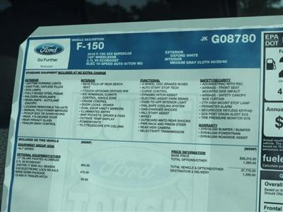 2018 F-150 Super Cab 4x2,  Pickup #8X1C8780 - photo 15