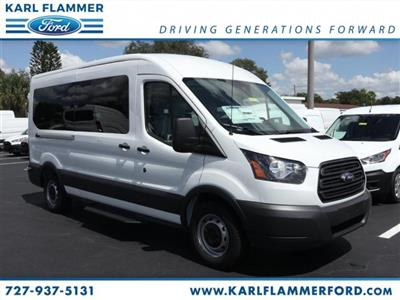 2018 Transit 350 Med Roof 4x2,  Passenger Wagon #8X2C9709 - photo 1