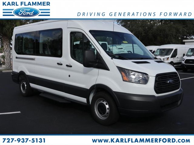 2018 Transit 350 Med Roof 4x2,  Passenger Wagon #8X2C9710 - photo 1