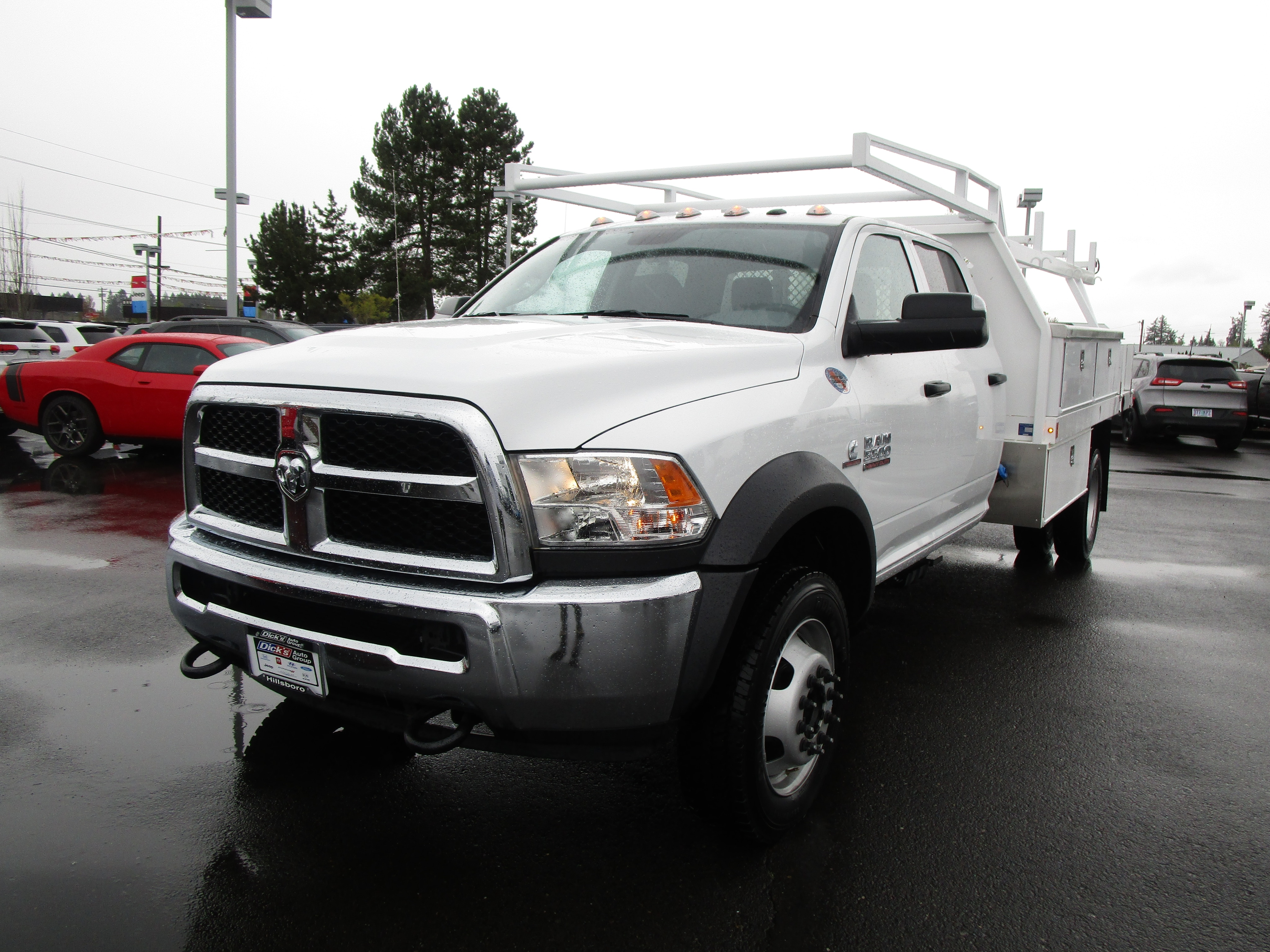 2017 Ram 5500 Crew Cab DRW 4x4,  Contractor Body #077734 - photo 7