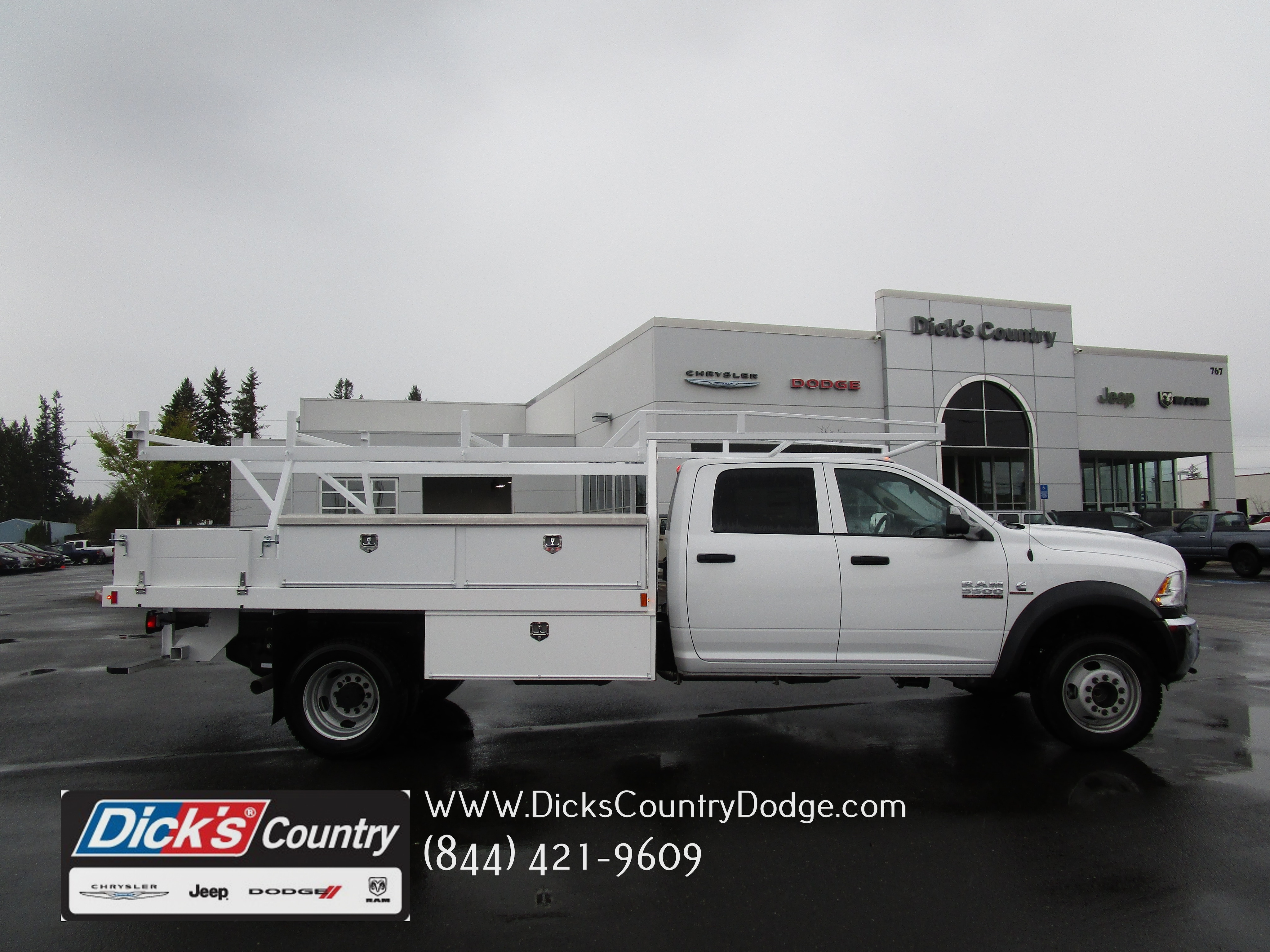 2017 Ram 5500 Crew Cab DRW 4x4,  Contractor Body #077734 - photo 1
