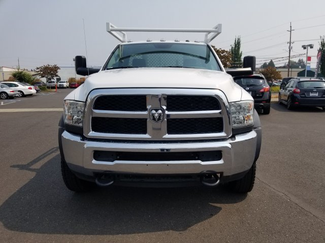 2017 Ram 5500 Regular Cab DRW 4x4,  Harbor Contractor Body #077801 - photo 5
