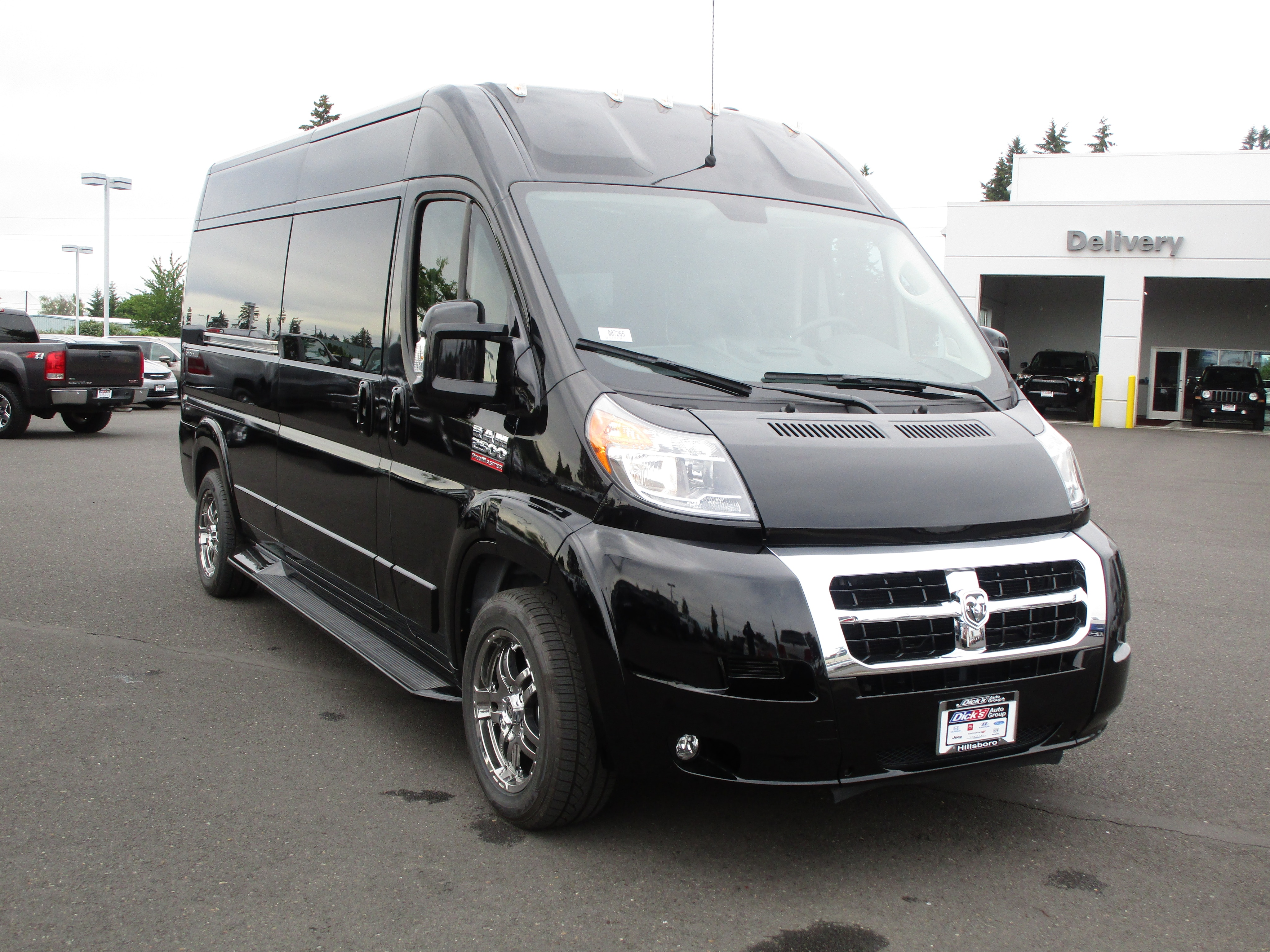 2018 ProMaster 2500 High Roof,  Empty Cargo Van #087265 - photo 2