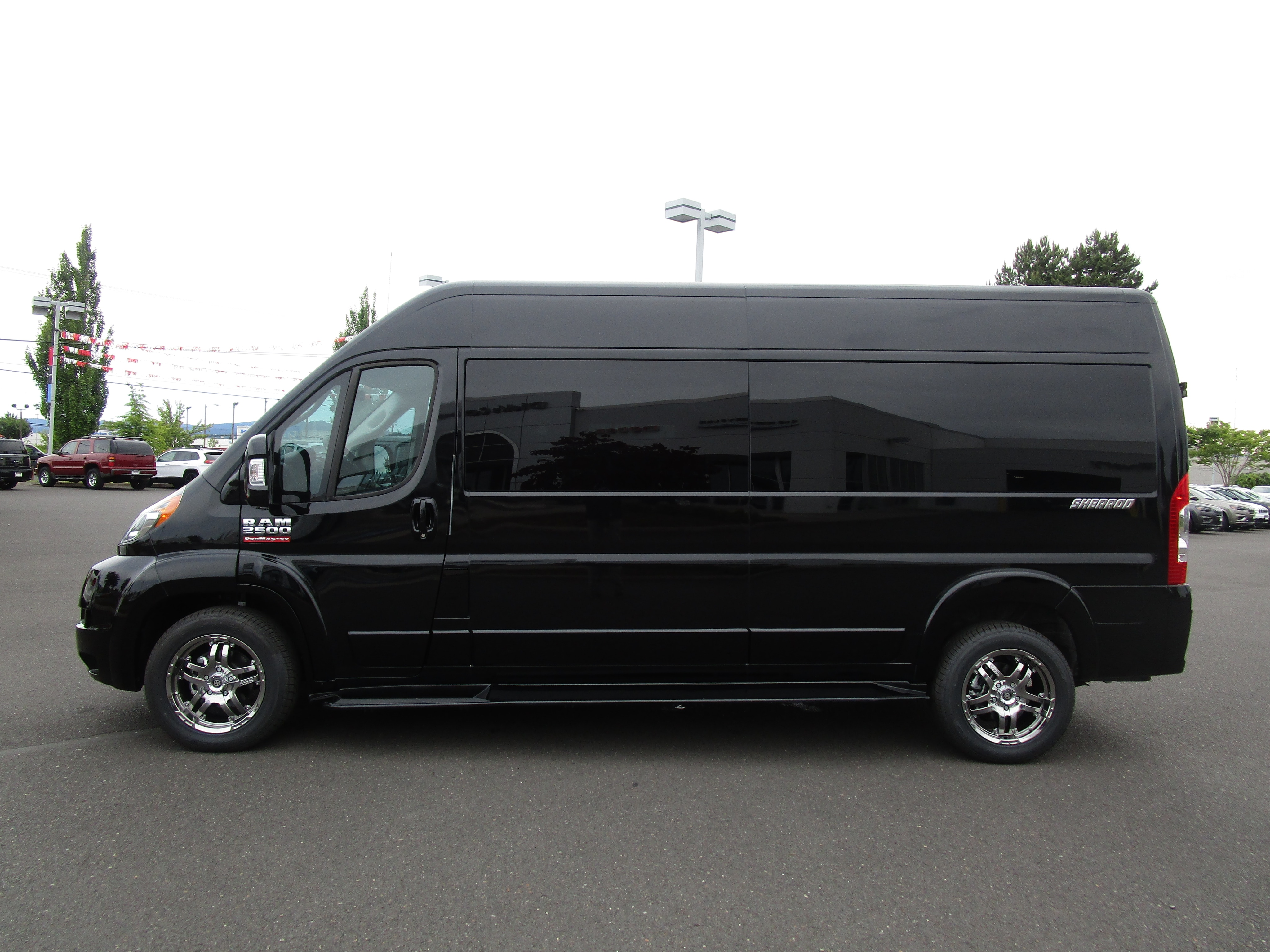 2018 ProMaster 2500 High Roof,  Empty Cargo Van #087265 - photo 5