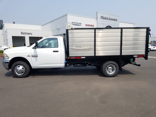 2018 Ram 3500 Regular Cab DRW 4x2,  The Fab Shop Landscape Dump #087425 - photo 1