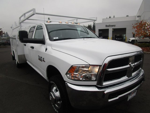 2018 Ram 3500 Crew Cab DRW 4x4,  Harbor Service Body #087576 - photo 2