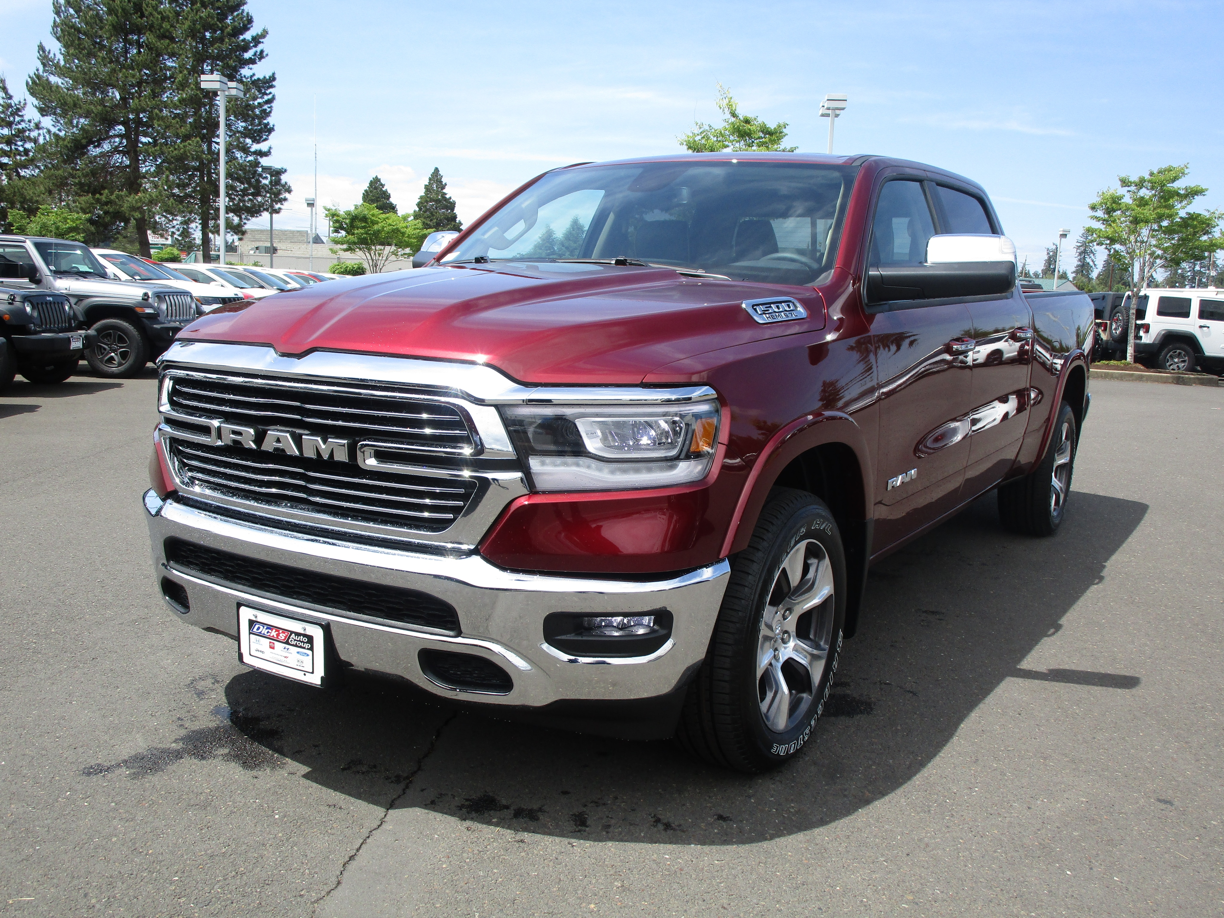 2019 Ram 1500 Crew Cab 4x4,  Pickup #097011 - photo 5