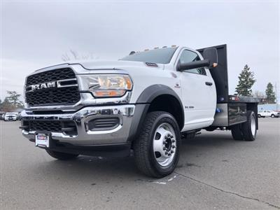 2019 Ram 5500 Regular Cab DRW 4x4, Harbor Black Boss Platform Body #097521 - photo 4