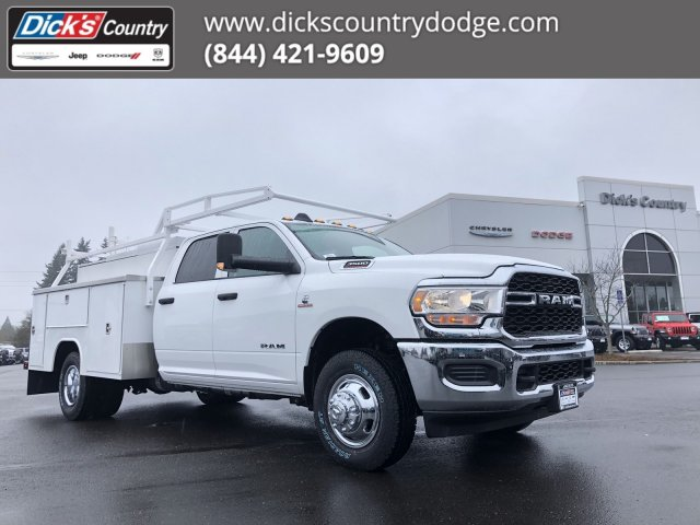 2019 Ram 3500 Crew Cab DRW 4x4, Harbor Service Body #097535 - photo 1