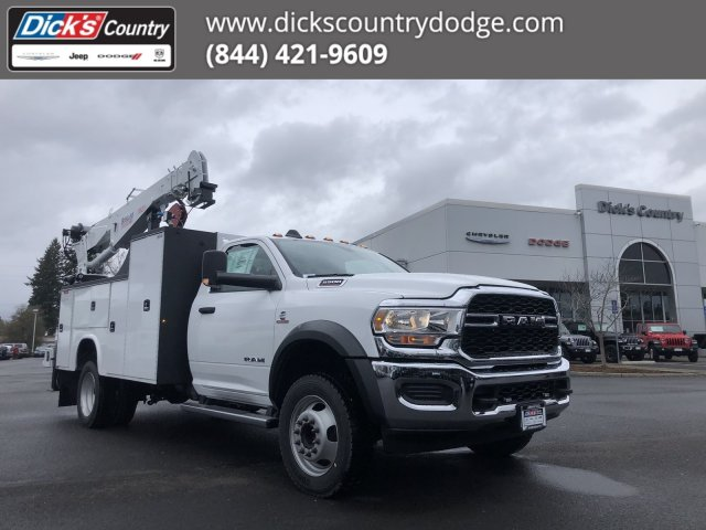 2020 Ram 5500 Regular Cab DRW 4x4, Knapheide Mechanics Body #T0R170 - photo 1