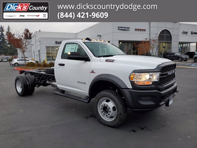 2020 Ram 5500 Regular Cab DRW 4x4, Cab Chassis #T0R442 - photo 1