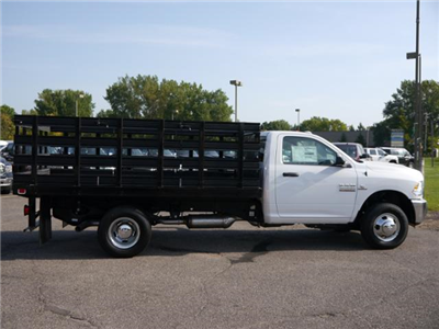 2017 Ram 3500 Regular Cab DRW 4x4,  Knapheide Heavy-Hauler Junior Stake Bed #217158 - photo 3