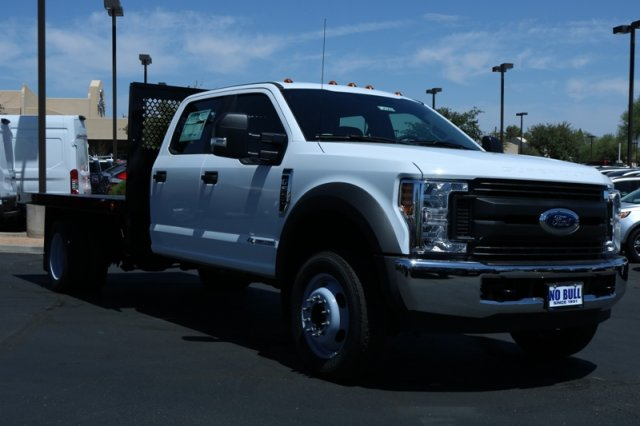 2018 F-550 Crew Cab DRW 4x2,  Sun Country Truck Platform Body #FJ1060 - photo 4