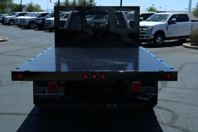 2018 F-550 Crew Cab DRW 4x2,  Sun Country Truck Platform Body #FJ1060 - photo 6