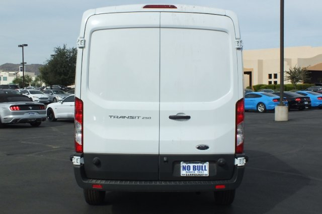 2018 Transit 250 Med Roof 4x2,  Kargo Master Upfitted Cargo Van #FJ232 - photo 4
