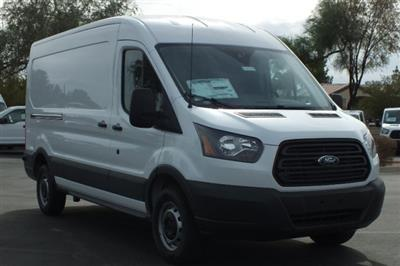 2018 Transit 250 Med Roof 4x2,  Kargo Master Upfitted Cargo Van #FJ232 - photo 3