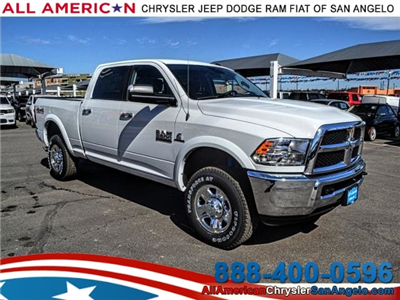 2018 Ram 2500 Crew Cab 4x4, Pickup #JG191652 - photo 1