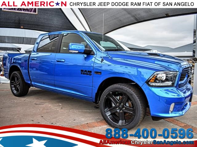 2018 Ram 1500 Crew Cab, Pickup #JS223357 - photo 1