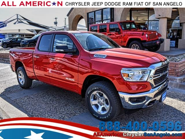 2019 Ram 1500 Quad Cab 4x4,  Pickup #KN583462 - photo 1