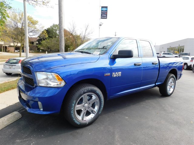 2018 Ram 1500 Quad Cab 4x4 Pickup #418016 - photo 4