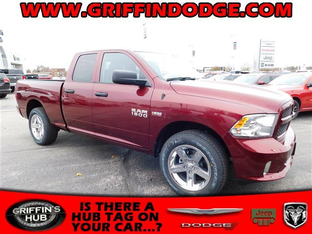 2018 Ram 1500 Quad Cab 4x4 Pickup #418056 - photo 1