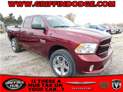 2018 Ram 1500 Quad Cab 4x4, Pickup #418058 - photo 1