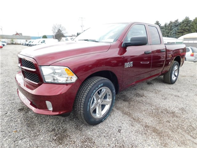 2018 Ram 1500 Quad Cab 4x4, Pickup #418058 - photo 4