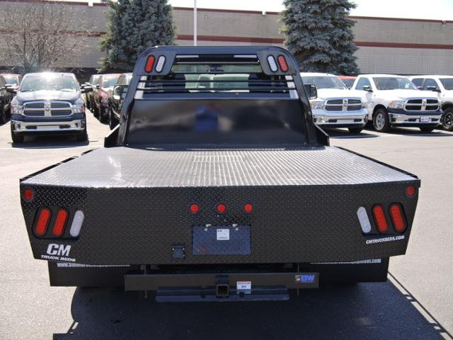 2017 Ram 3500 Regular Cab DRW 4x4, CM Truck Beds Platform Body #N18579 - photo 3