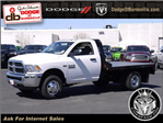 2017 Ram 3500 Regular Cab DRW 4x4, CM Truck Beds Platform Body #N18579 - photo 1