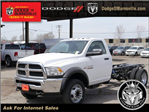 2018 Ram 5500 Regular Cab DRW 4x4, Cab Chassis #N28570 - photo 1
