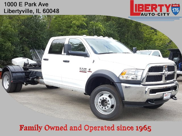 2017 Ram 5500 Crew Cab DRW Cab Chassis #617280 - photo 1