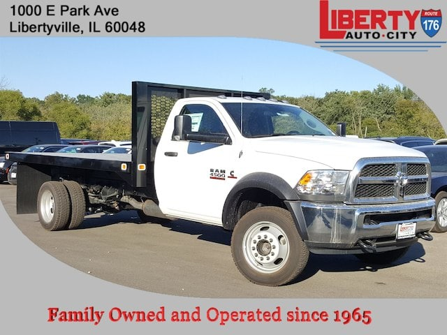 2017 Ram 4500 Regular Cab DRW 4x4, Knapheide Value-Master X Platform Body #617312 - photo 1