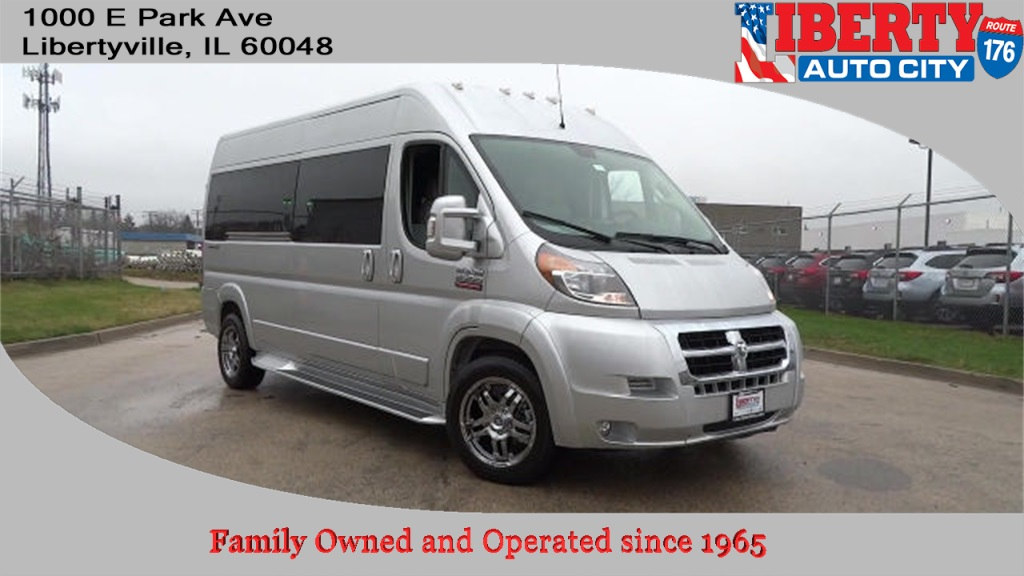 2018 ProMaster 2500, Passenger Wagon #618036 - photo 1