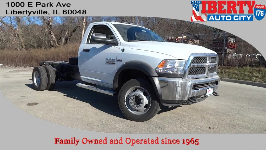 2018 Ram 4500 Regular Cab DRW, Cab Chassis #618079 - photo 1