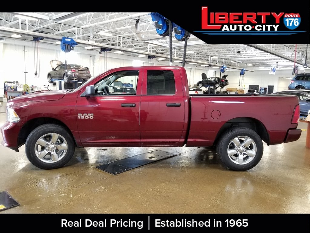 2018 Ram 1500 Quad Cab 4x4,  Pickup #618185 - photo 5